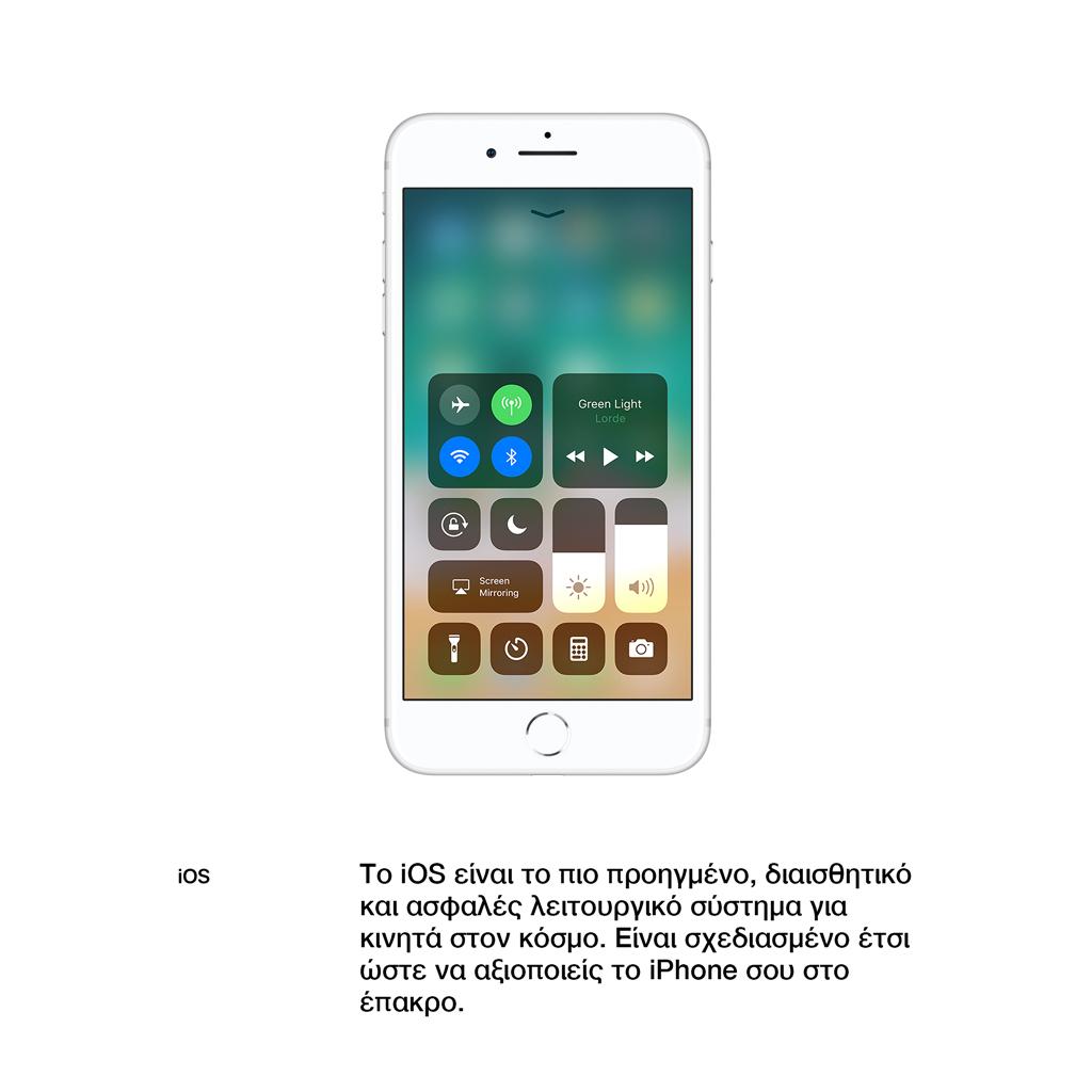 iOS. Το iOSείναι το πιο προηγμένο, διαισθητικό και ασφαλές λειτουργικό σύστημα για κινητά στον κόσμο. Είναι σχεδιασμένο έτσι ώστε να αξιοποιείς τοiPhone σουστο έπακρο.