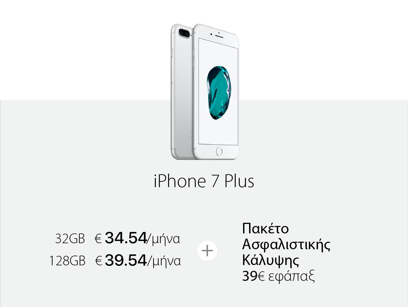 Χαμηλή μηνιαία δόση iPhone 7 Plus