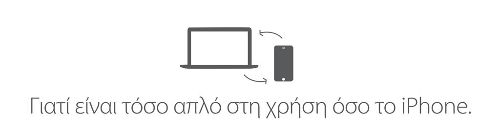 Γιατί είναι τόσο απλό στη χρήση όσο το iPhone.