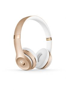 Beats Solo 3 Wireless On-Ear Headphones - Gold