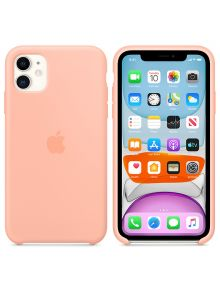 iPhone 11 Silicone Case - Grapefruit