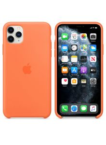 iPhone 11 Pro Max Silicone Case - Vitamin C