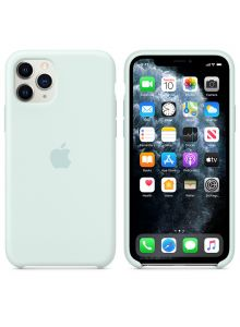 iPhone 11 Pro Silicone Case - Seafoam
