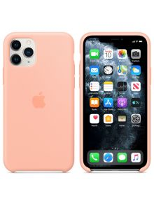 iPhone 11 Pro Silicone Case - Grapefruit